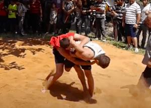 Chidaoba Wrestling Match
