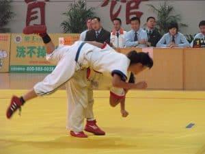 Shuai Jiao Shoulder Throw