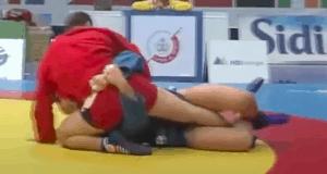 Ivan Vasylchuk Leg Lock